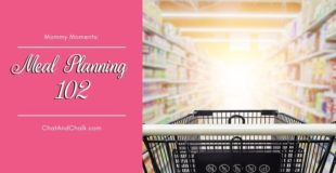 Let's go shopping with Mary Jo as she teaches Meal Planning 102